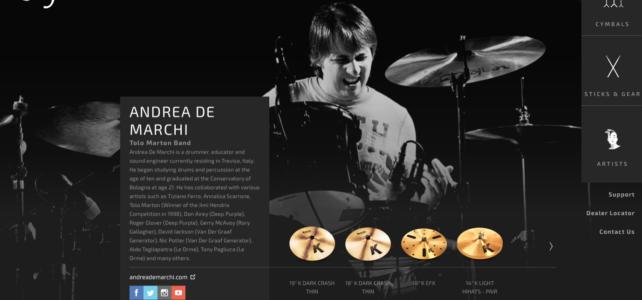 La mia pagina ufficiale Zildjian.com