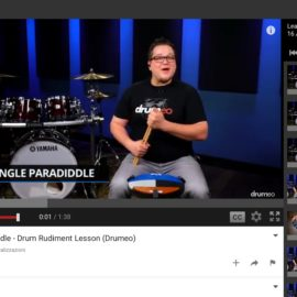 Single Paradiddle-Diddle – Drum Rudiment Lesson (Drumeo)