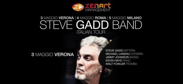 STEVE GADD BAND in Italia