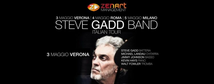 STEVE GADD BAND in Italia