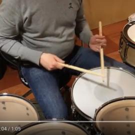 Didattica: paradiddle(rovesciati) e accenti – seconda parte