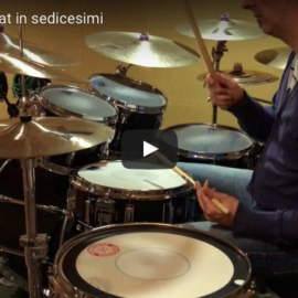 Groove con hi-hat in sedicesimi HD video