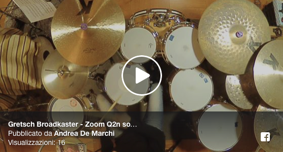 Gretsch Broadkaster – Zoom Q2n sound