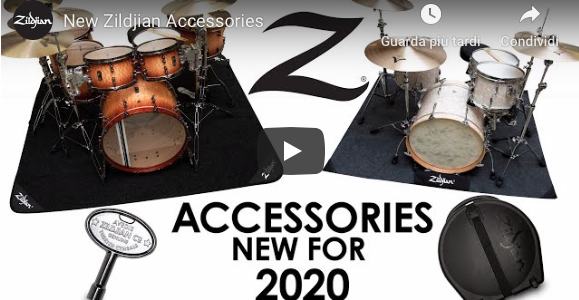Nuovi accessori Zildjian per il 2020