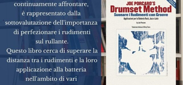 JOE PORCARO'S DRUMSET METHOD IN ITALIANO